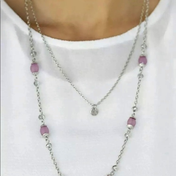 Papa - Necklace Earrings Irresistibly Iridescent